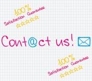 Customer Service approach Stock Photo