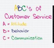 Customer Service approach Stock Photos