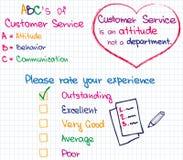 Customer Service approach Royalty Free Stock Photos
