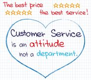 Customer Service approach Stock Images
