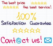 Customer Service approach Stock Photography