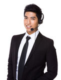 Customer service assistant Stock Images