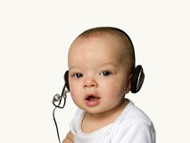 Customer Service Baby Royalty Free Stock Images