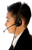 Customer service boy Stock Photo