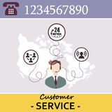Customer Service Call Center Royalty Free Stock Photo
