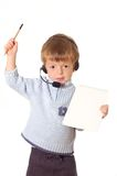 Customer Service Child. Stock Photos