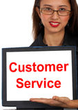 Customer Service Computer Message Stock Images