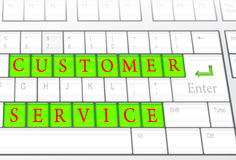Customer Service concept Stock Images