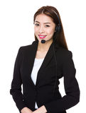Customer service consultant Stock Photography