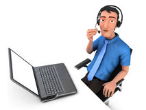 Customer service Stock Photo