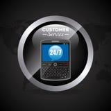 Customer service. Design, vector illustration eps10 graphic Stock Photo