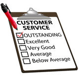 CUSTOMER SERVICE evaluation report form
