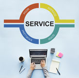 Customer Service Feedback Comment Graphic Concept Royalty Free Stock Photography