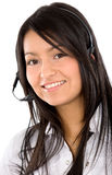 Customer service girl Royalty Free Stock Photography