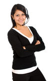 Customer service girl Royalty Free Stock Photo
