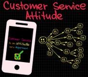 Customer Service Good Attitude Royalty Free Stock Photo