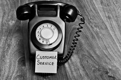 Customer service. Good old fashioned customer service concept Royalty Free Stock Photography