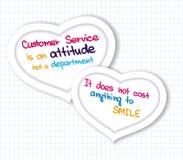 Customer Service Heart Stock Image