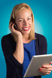 Customer Service Lady Smiling Royalty Free Stock Photo