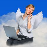 Customer service. we love to help you royalty free stock images