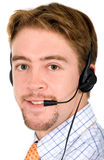 Customer service man Royalty Free Stock Image