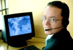 Customer service man Stock Photography