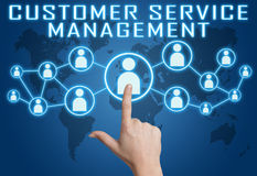 Customer Service Management Stock Photography