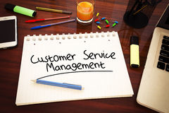 Customer Service Management Stock Image