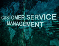 Customer Service Management Royalty Free Stock Photos