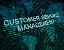 Customer Service Management Royalty Free Stock Images
