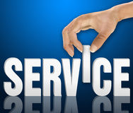 Customer service concept Royalty Free Stock Photo