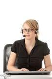 Customer service operator Stock Photos