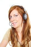 Customer service operator Royalty Free Stock Photography