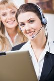 Customer service operator Royalty Free Stock Photo