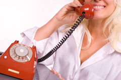 Customer service operator Royalty Free Stock Image