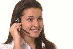 Customer service operator Stock Photography