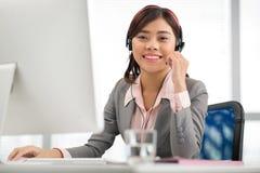 Customer service operator Stock Photography