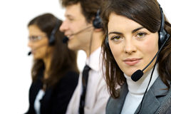 Customer service operators Stock Photography