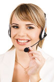 Customer service professional Stock Image