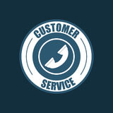 Customer service related icons image. Customer service related icons emblem  illustration Stock Photo