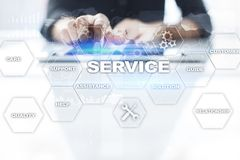 Customer service and relationship concept. Business concept.  Royalty Free Stock Photography