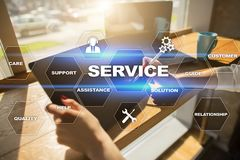 Customer service and relationship concept. Business concept.  Stock Image