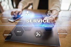 Customer service and relationship concept. Business concept Royalty Free Stock Photos