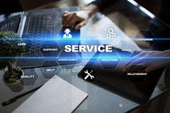 Customer service and relationship concept. Business concept. Royalty Free Stock Image
