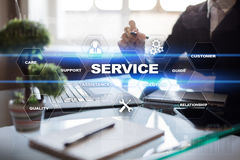 Customer service and relationship concept. Business concept. Royalty Free Stock Photos