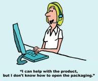 Customer Service Rep Stock Image