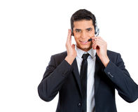 Customer service rep Stock Photography