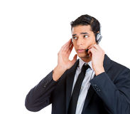 Customer service rep Stock Photo