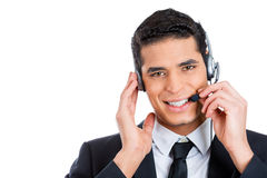 Customer service rep Royalty Free Stock Photos