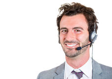 Customer service rep Stock Image